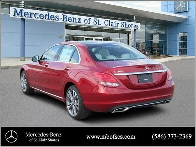 2017 mercedes benz c class c 300 mercedes benz dealer in for Mercedes benz of saint clair shores