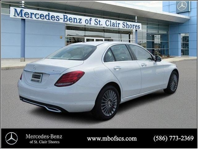 2016 mercedes benz c class c 300 luxury mercedes benz for Mercedes benz of saint clair shores
