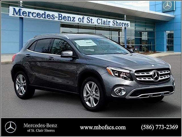2018 mercedes benz gla gla 250 mercedes benz dealer in for Mercedes benz of saint clair shores