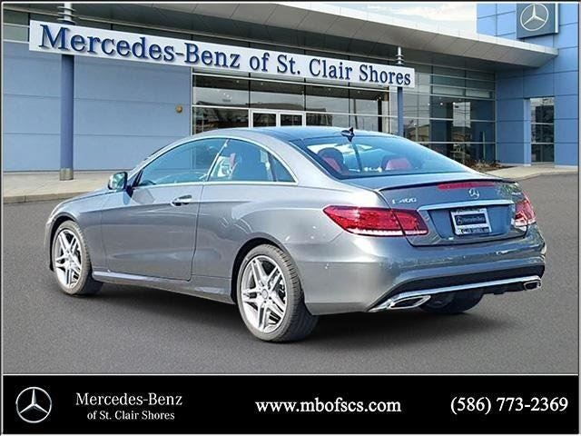 2017 mercedes benz e class e 400 mercedes benz dealer in for Mercedes benz of saint clair shores
