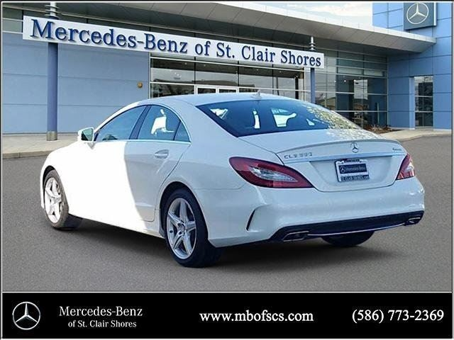2016 mercedes benz cls cls 550 mercedes benz dealer in for Mercedes benz dealers in michigan