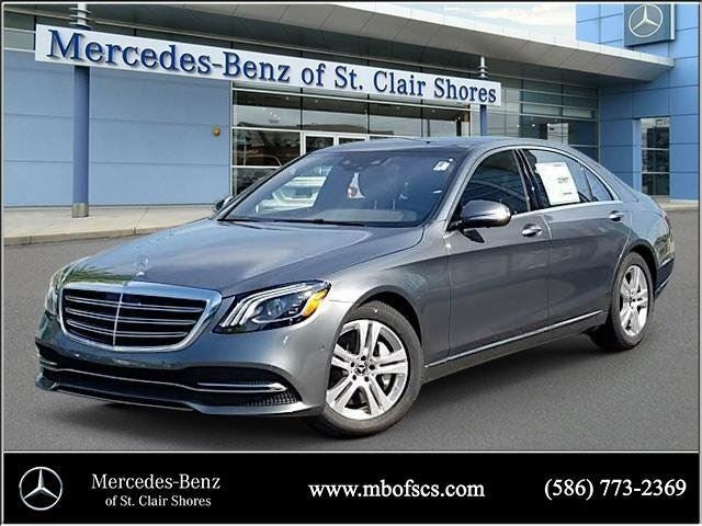 2018 mercedes benz s class s 450 mercedes benz dealer in for Mercedes benz of saint clair shores