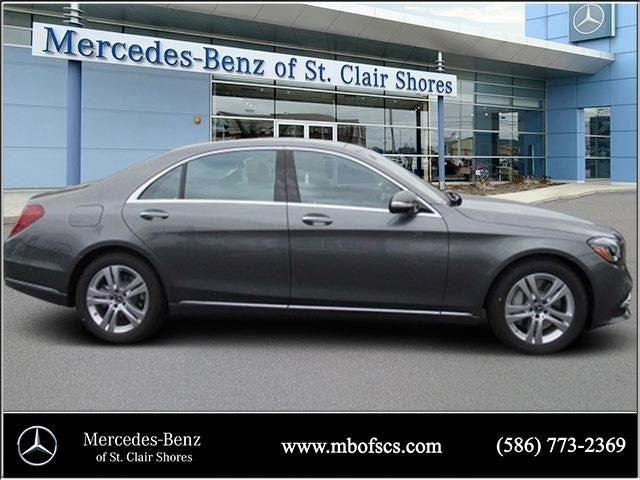 2018 mercedes benz s class s 450 mercedes benz dealer in for Mercedes benz extended limited warranty price
