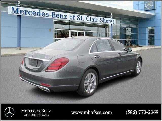 2018 mercedes benz s class s 450 mercedes benz dealer in for Mercedes benz dealers in michigan