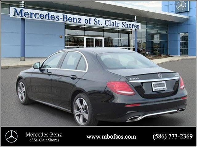 2017 mercedes benz e class base mercedes benz dealer in for Mercedes benz of saint clair shores