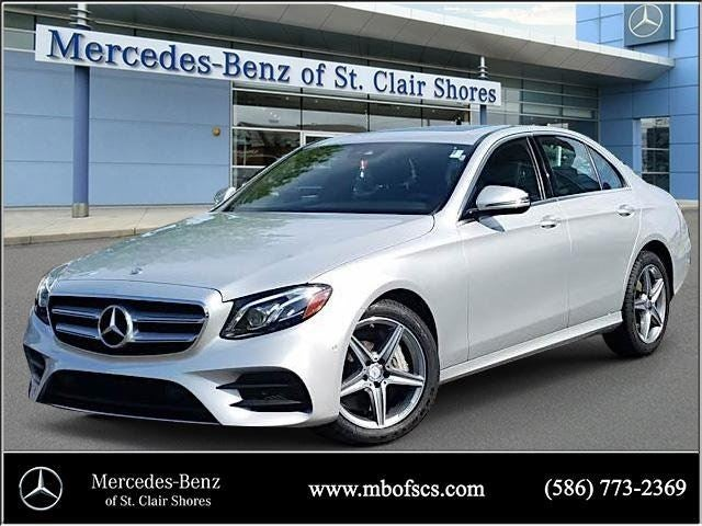 2017 mercedes benz e class e 300 sport mercedes benz for Mercedes benz dealers in michigan