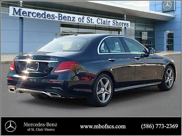 2017 mercedes benz e class e 300 sport mercedes benz for Mercedes benz of saint clair shores