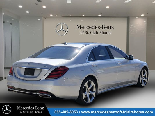 2018 Mercedes-Benz S-Class S 450 - Mercedes-Benz dealer in ...